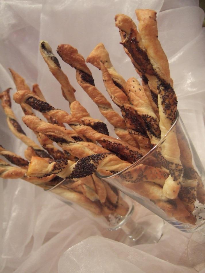 torsades aux graines de pavot