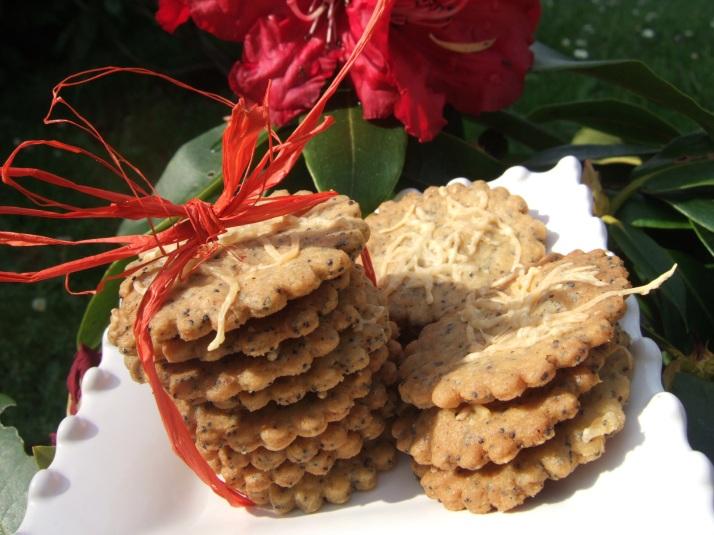 biscuits apéro paprika graines de pavot