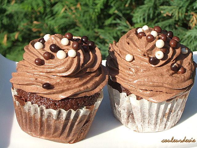 cupcakes chocolat-café