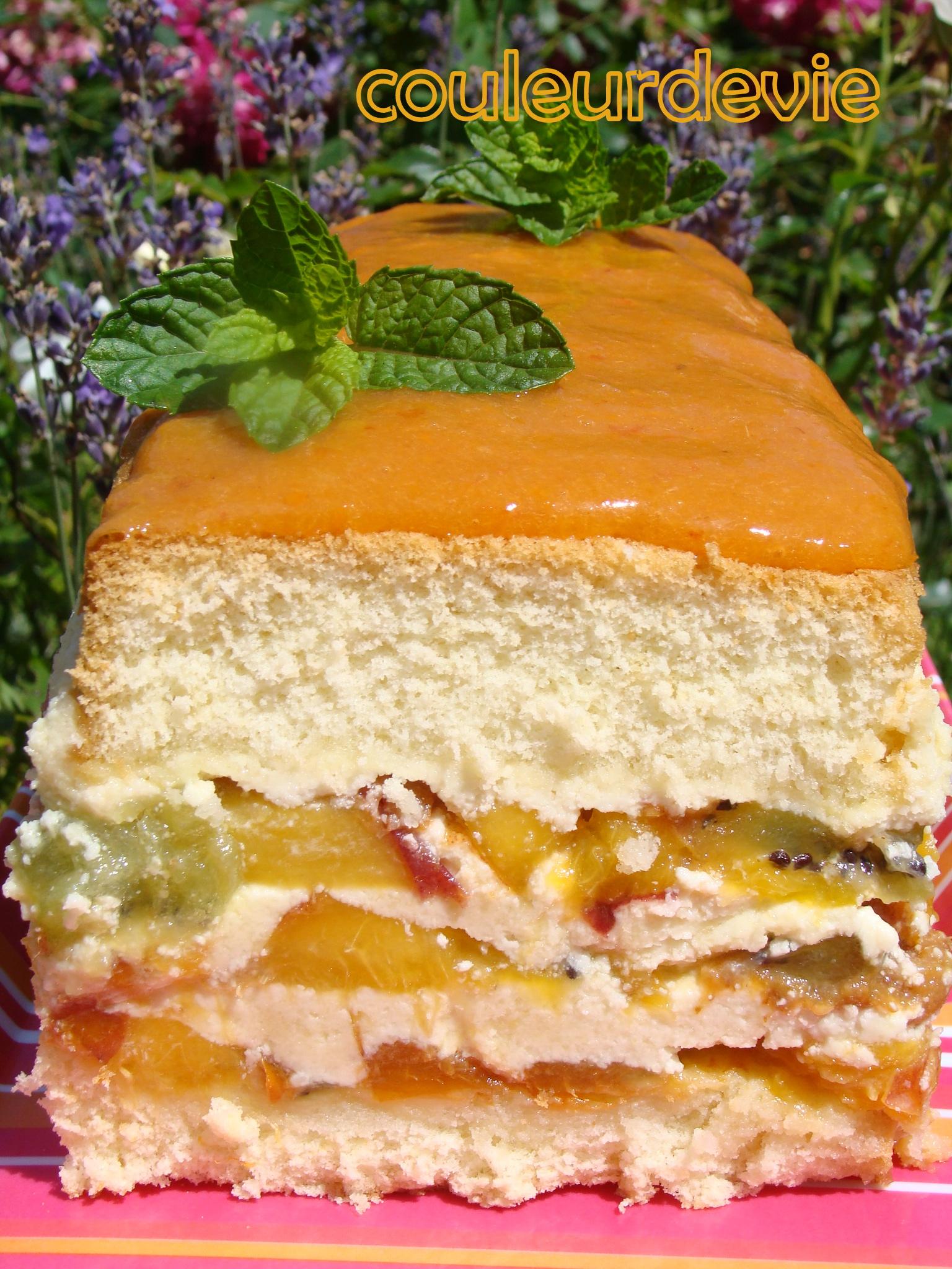 Cake Aux Fruits Frais Thermomix