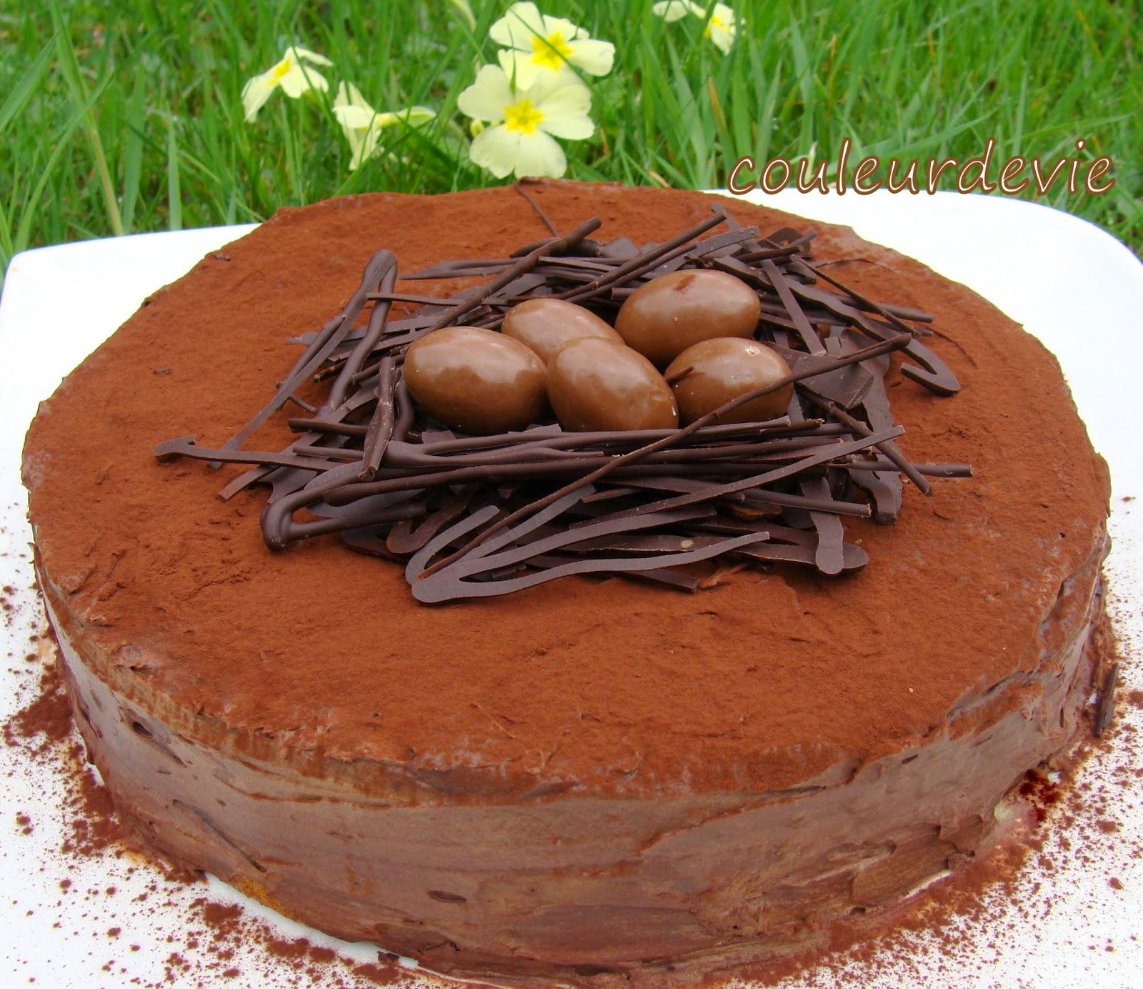 Gâteau de Pâques\u2026un peu en retard !