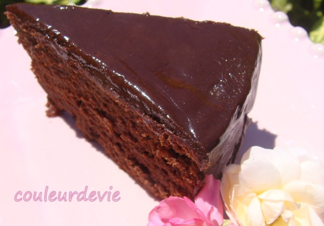 Mud cake au thermomix couleurdevie - Gateau au chocolat rapide thermomix ...