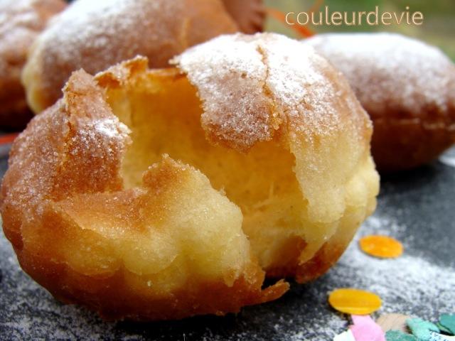 Beignets souffl s couleurdevie - Recette beignet levure de boulanger ...